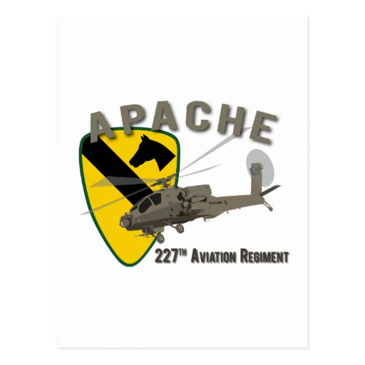227th Aviation Apache Post Cards