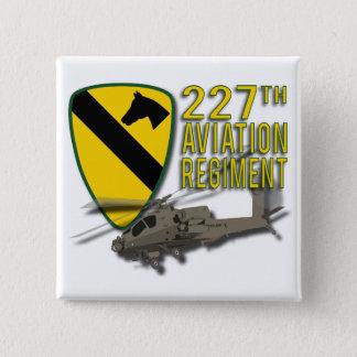 227th Aviation Regiment Apache 15 Cm Square Badge