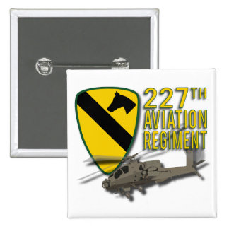 227th Aviation Regiment Apache 15 Cm Square Badge