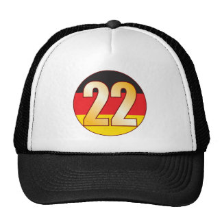 22 GERMANY Gold Cap