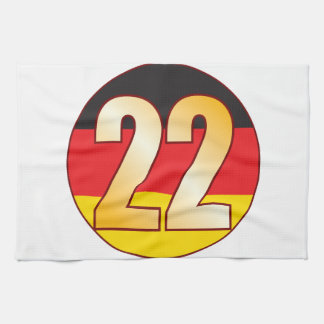 22 GERMANY Gold Hand Towels