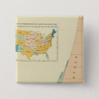 22 Growth elements of population 17901890 15 Cm Square Badge