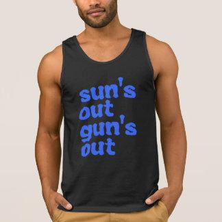 22 Jump Street.. Sun's Out Gun's Out Tank Top