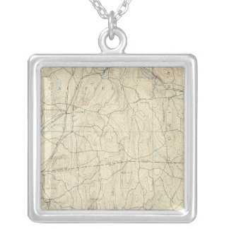 22 Moosup sheet Silver Plated Necklace