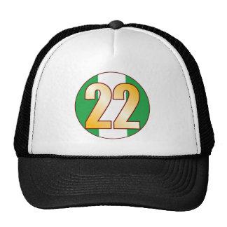 22 NIGERIA Gold Cap