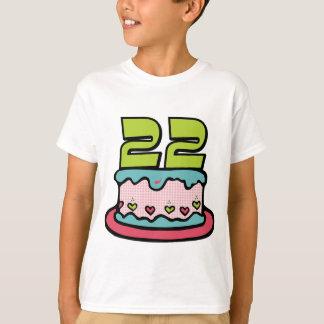 22 Year Old Birthday Cake T-Shirt