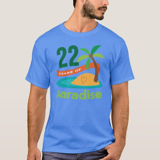 22nd Wedding Anniversary Funny Gift For Her T-Shirt