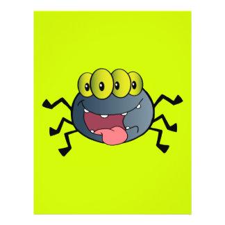_2387-Happy-Spider-Cartoon-Character HAPPY CARTOON 21.5 Cm X 28 Cm Flyer