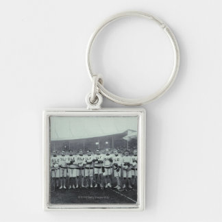 23898011 Silver-Colored SQUARE KEY RING