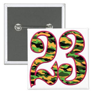 23 Age Camo 15 Cm Square Badge