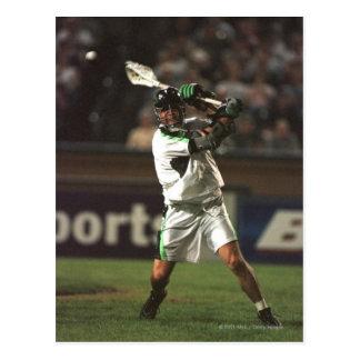 23 Aug 2001: Paul Gait #3 takes a reverse shot Postcard
