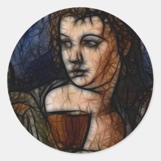 23 - Chalice of Heartbreak Round Sticker