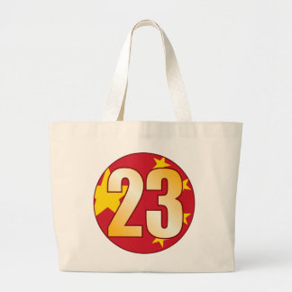 23 CHINA Gold Jumbo Tote Bag
