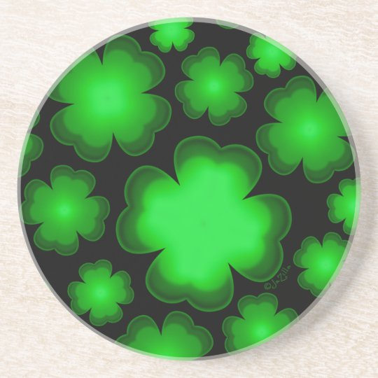23 Four Leaf Clovers Coaster