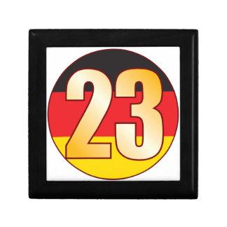 23 GERMANY Gold Gift Box