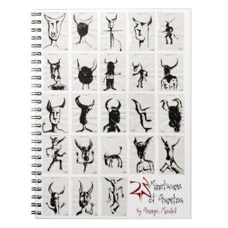 23 minotaurs of Garitsa Notebooks