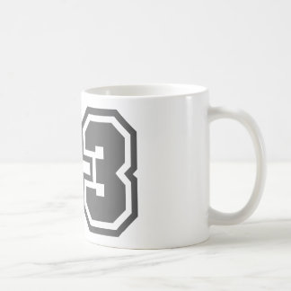 23 CLASSIC WHITE COFFEE MUG
