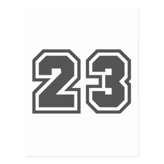 23 POSTCARDS