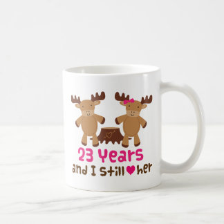 23rd Anniversary Gift For Him Coffee Mugs