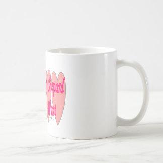 23rd Psalm--Pink Hearts--Gifts Coffee Mug