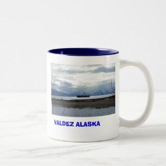 2409519560066074337cAYIyw_fs, VALDEZ ALASKA Two-Tone Mug