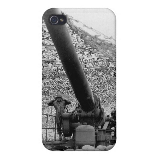 240mm howitzer of Battery B 697th Field Artillery Cases For iPhone 4