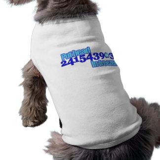 241543903 SLEEVELESS DOG SHIRT