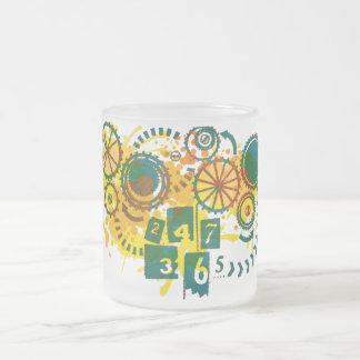 24/7/365 FROSTED GLASS MUG