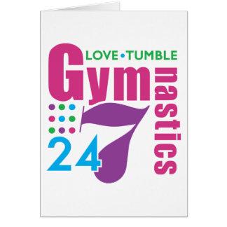 24/7 Gymnastics Greeting Card