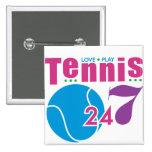 24/7 Tennis Buttons