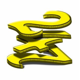 24 7 - Twenty-Four Seven - Yellow Text Photo Cutouts