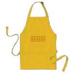 24-Carrot gold apron
