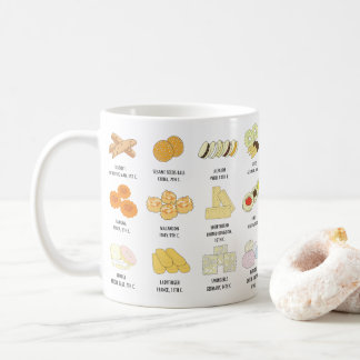 24 Cookies from around the world Knowledge Mug