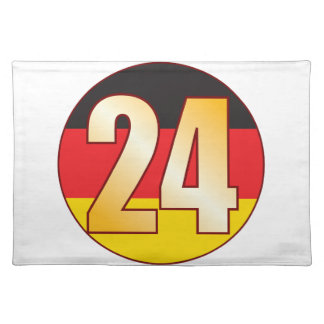 24 GERMANY Gold Placemat