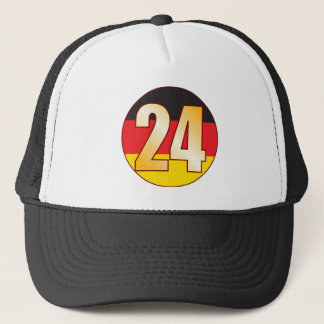 24 GERMANY Gold Trucker Hat