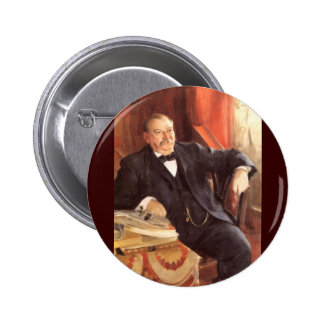 24 Grover Cleveland1 6 Cm Round Badge