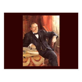 24 Grover Cleveland1 Postcard
