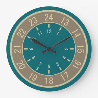 24-HOUR CUSTOM wall clocks