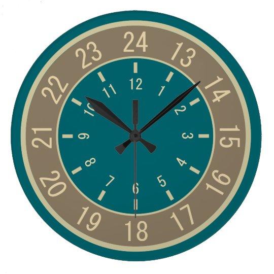 24-HOUR CUSTOM wall clocks