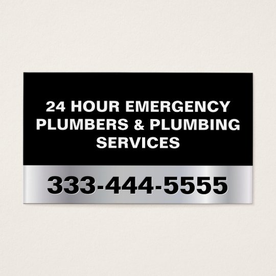 24 HOUR EMERGENCY PLUMBERS & PLUMBING SERVICES BUSINESS
