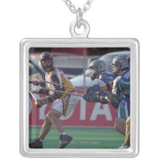 24 Jun 2001:   Ryan Powell #22  Rochester Silver Plated Necklace