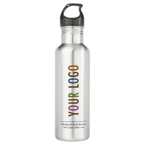24 oz Stainless Steel Water Bottle with Your Logo