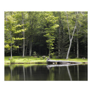 "24"" x 20"" Poster, Crawford Notch State Park, NH Photograph"