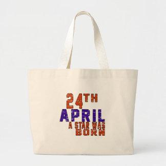 24th April a star was born Tote Bag