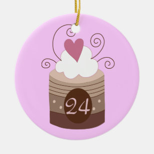 24th Birthday Gift Ideas For Her Christmas Ornament