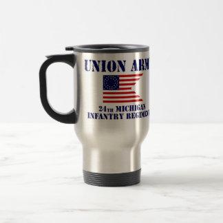 24th Michigan Infantry Regiment, Civil War Mug