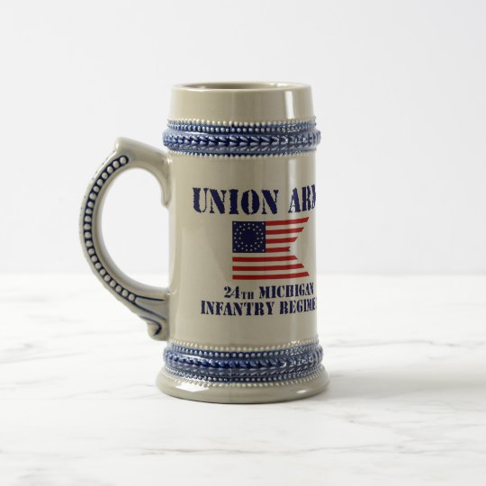 24th Michigan Infantry Regiment, Civil War Stein