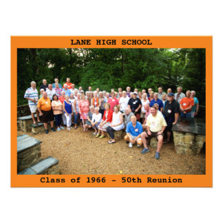 "24x18"" LHS Reunion Photo w/Text"