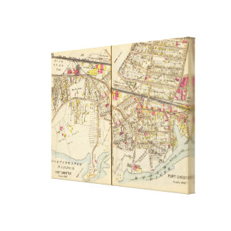 252253 Port Chester Canvas Print