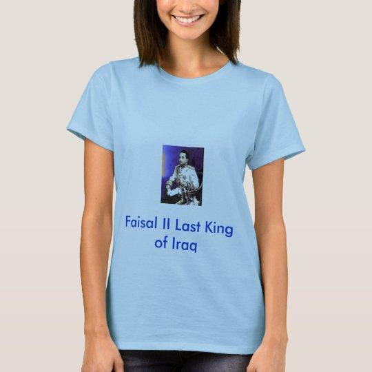 25 agosto, Faisal II Last King of Iraq